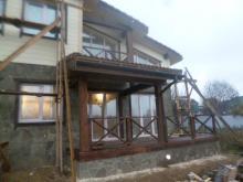 """проект дома шале """"Швейцария"""" комбинированный"""