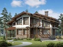 проект дома шале Швейцария