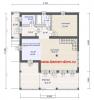 оксфорд планировка 1 этаж