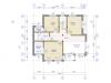 Планировка  дома шале 214м 2 этаж